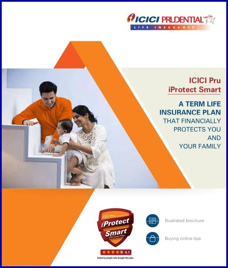 Icici Prudential Life Insurance Term Plan Brochure