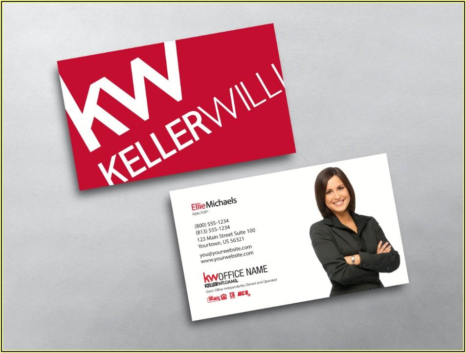 Keller Williams Approved Business Card Vendors