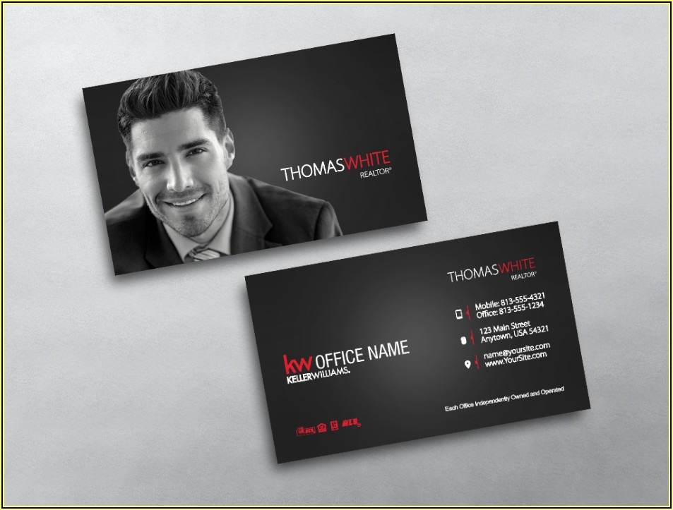 Keller Williams Approved Business Cards