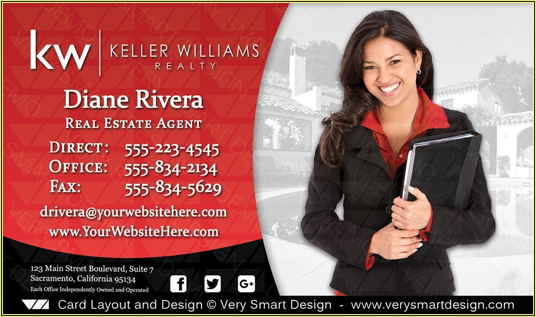 Keller Williams Business Cards Design
