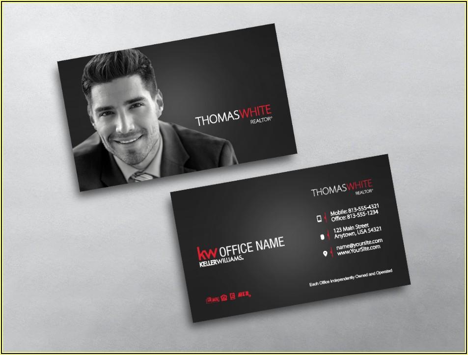 Keller Williams Business Cards Templates
