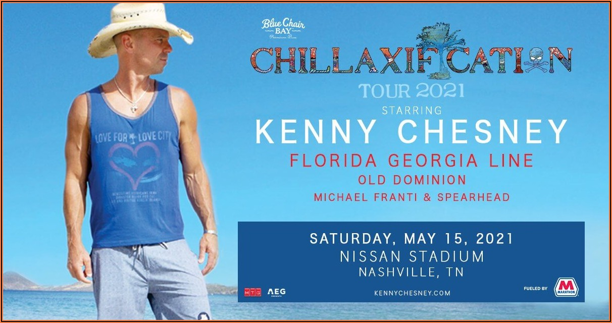 Kenny Chesney Concert Tour Schedule
