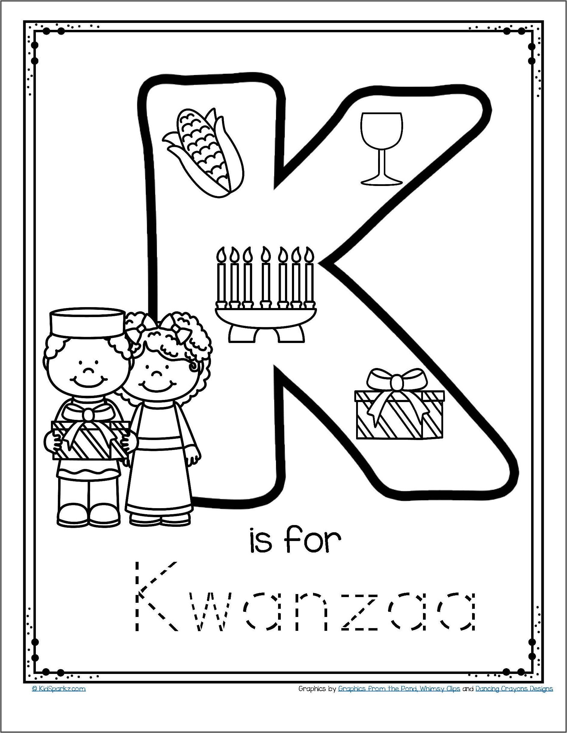 Kindergarten Letter Worksheets Trace
