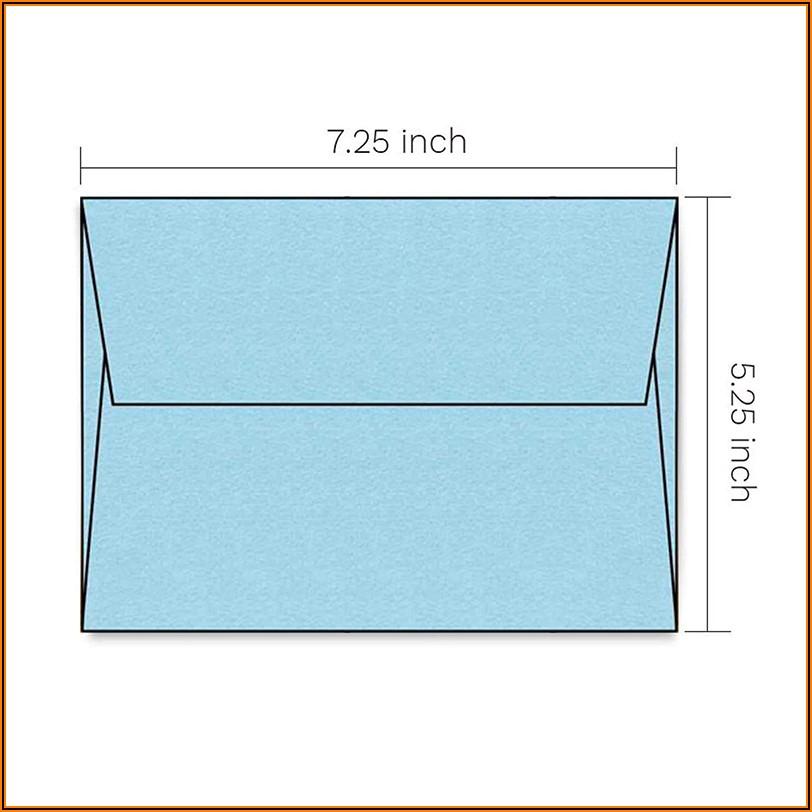Light Blue Envelopes 5x7