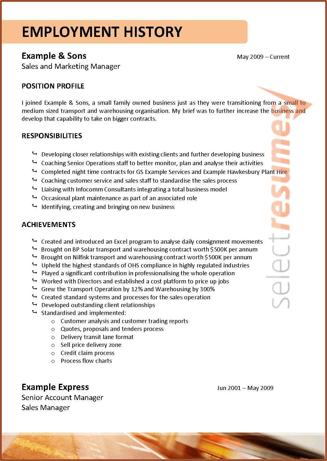 Low Cost Resume Writing Services