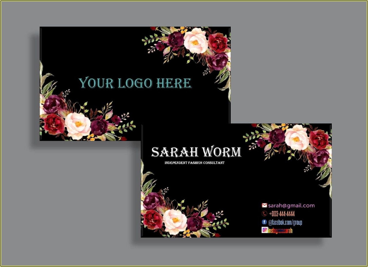 Lularoe Business Cards Home Office Approved