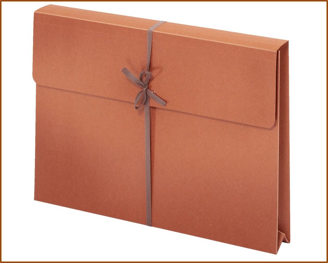 Manila Envelope With String Closure