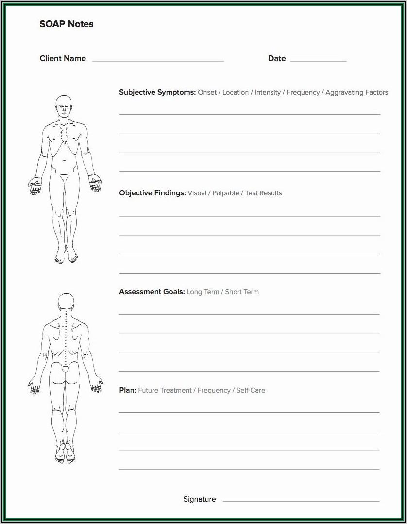 Massage Invoice Template Free