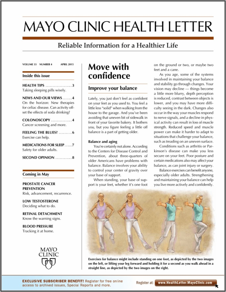 Mayo Clinic Health Letter Online Edition