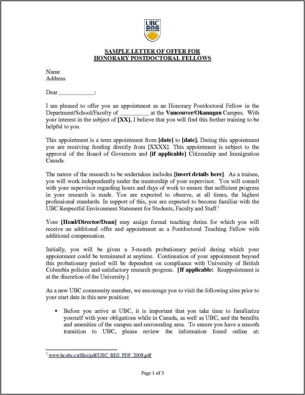Medical Receptionist Resume Cover Letter