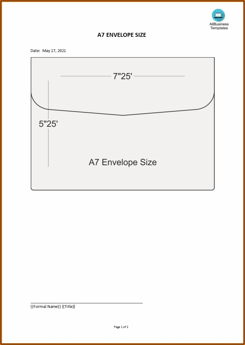 Microsoft Word 9 X 12 Envelope Template