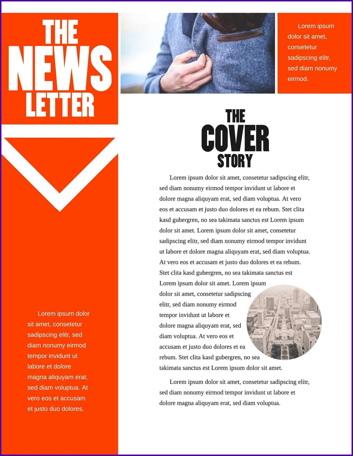 Microsoft Word Email Newsletter Template