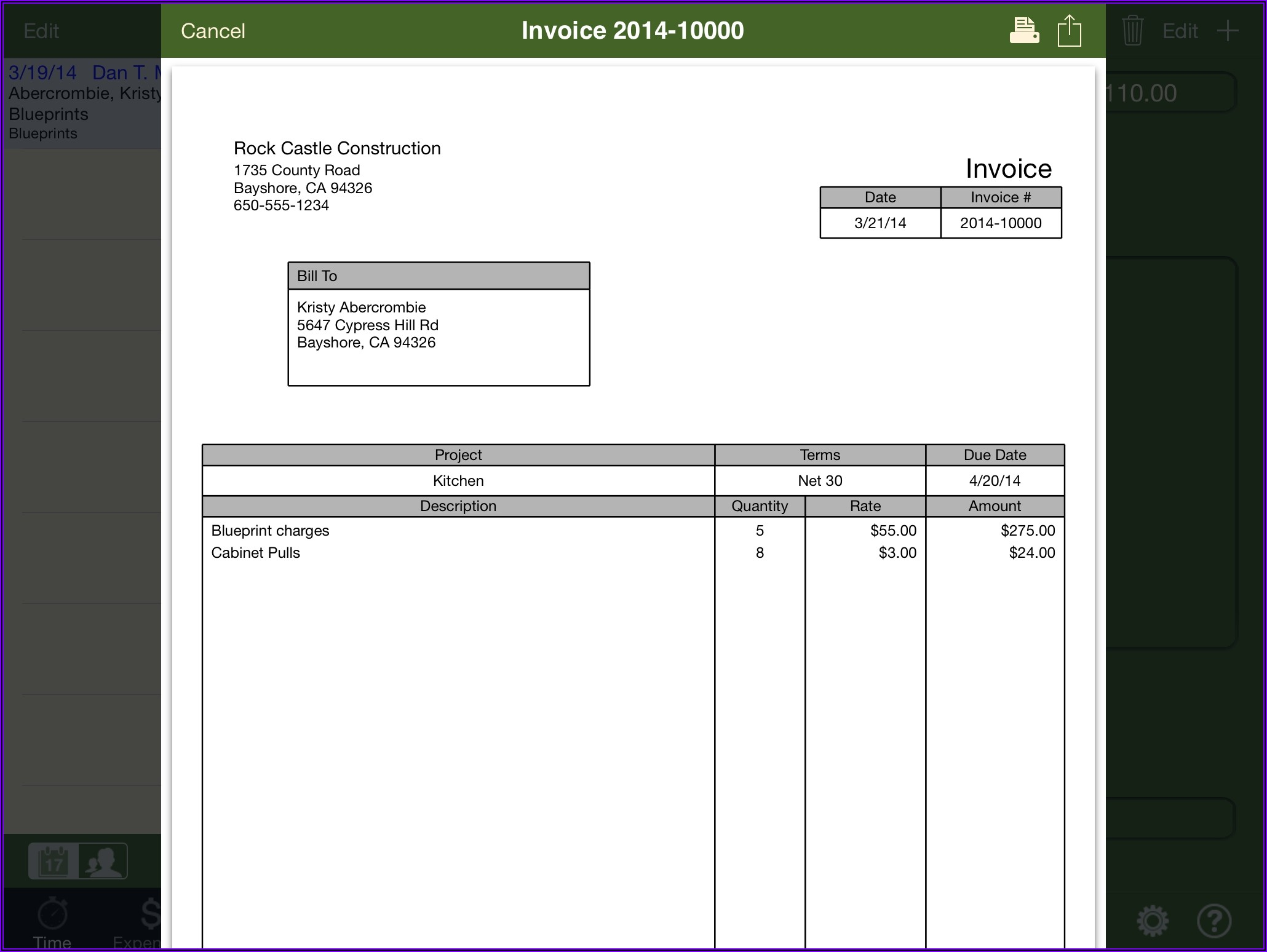 Microsoft Word Invoice Template Free Uk