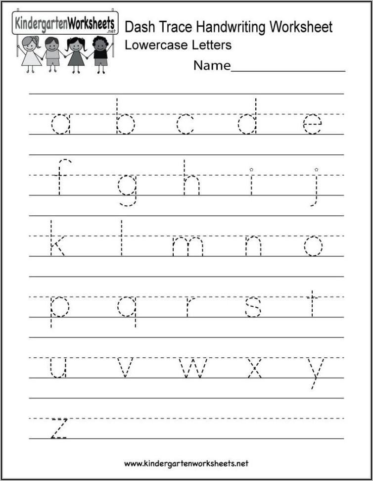 Missing Letter Worksheets For Kindergarten Pdf