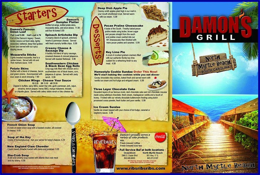 Myrtle Beach Brochures By Mail