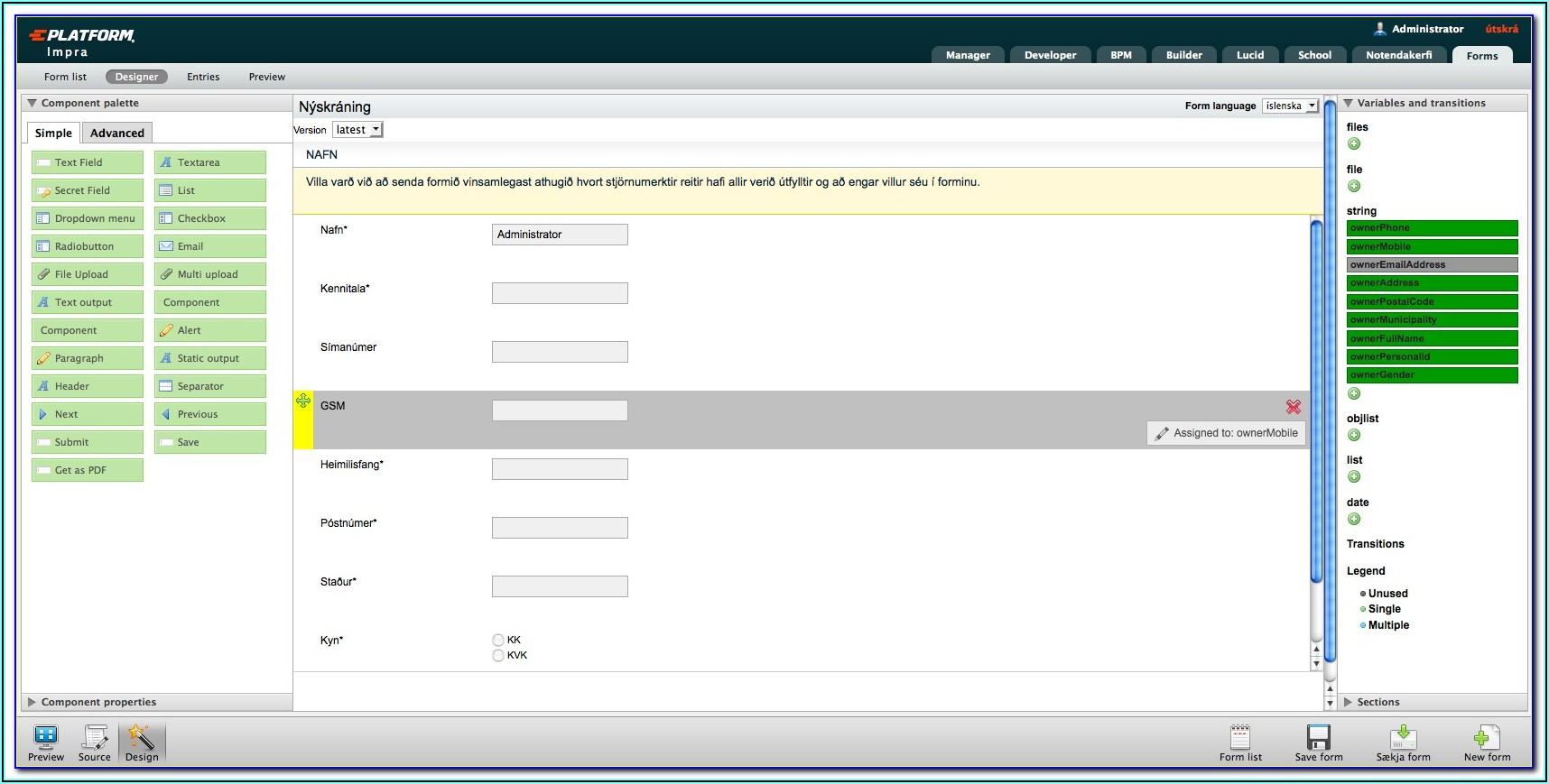 Mysql Form Builder Open Source