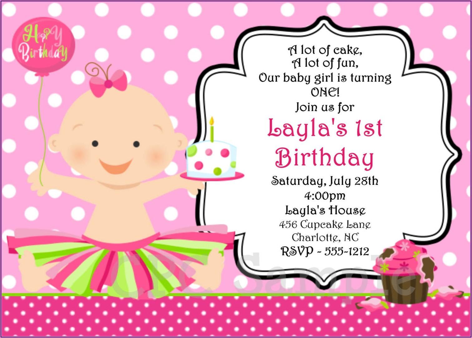 Online Birthday Invitation Maker With Photo