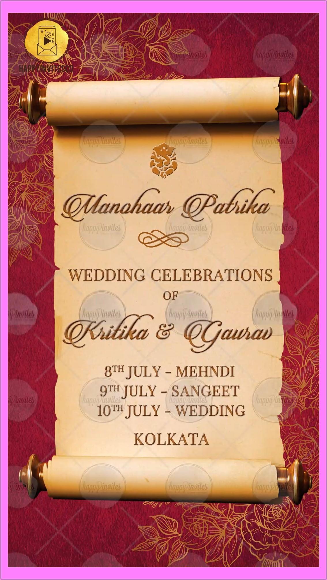 Online Wedding Invitation Cards Maker