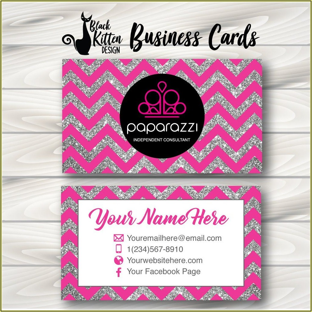Paparazzi Business Cards Printed