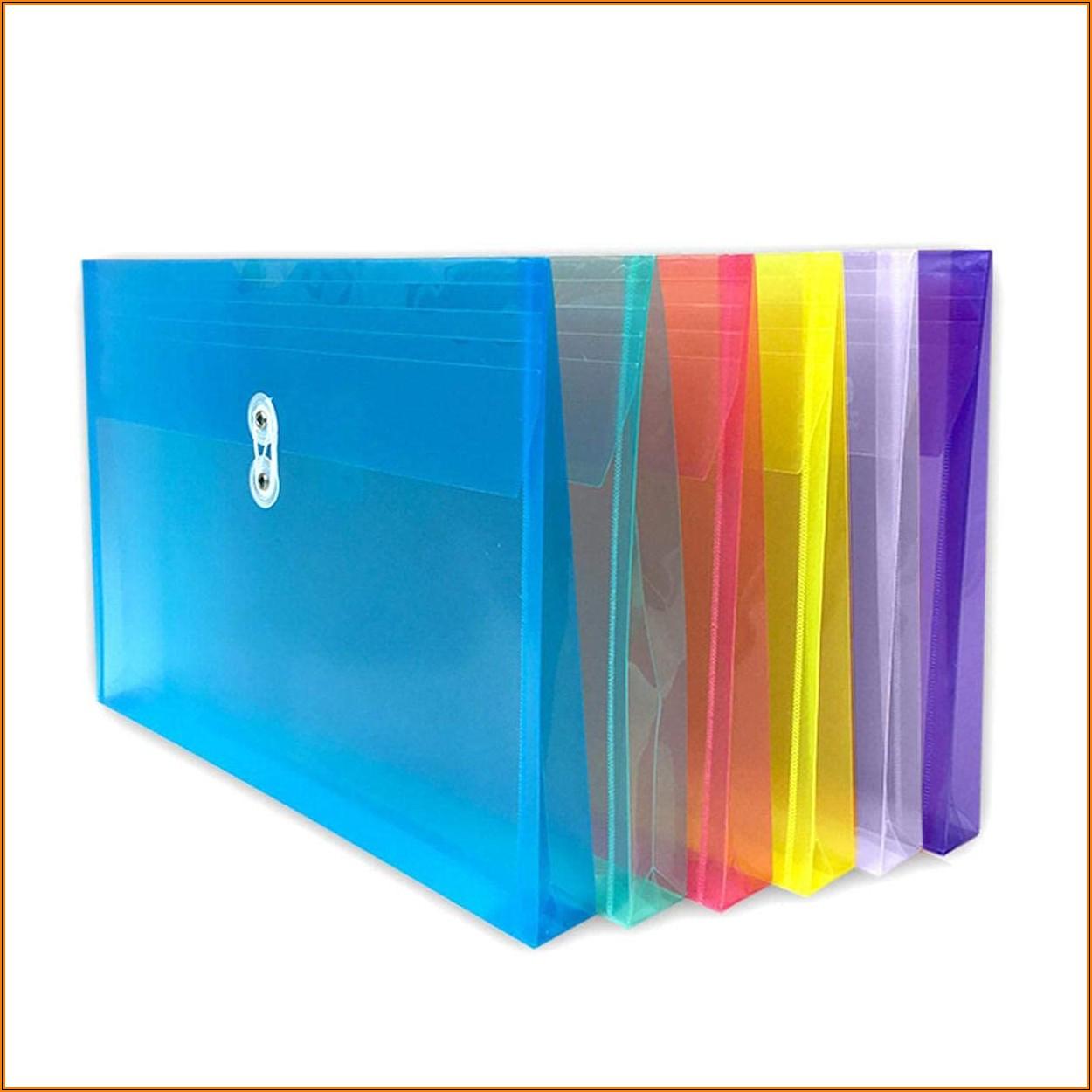 Plastic Envelopes With String Closure