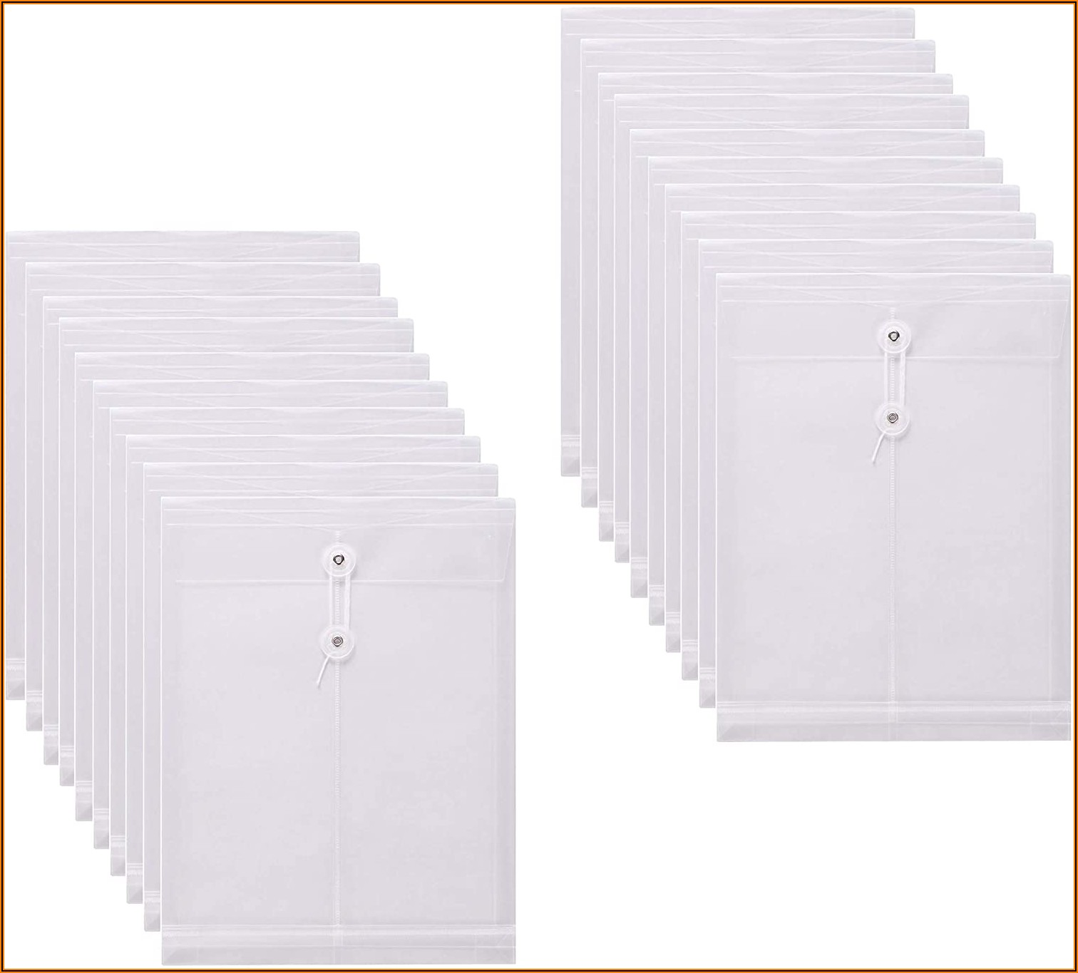 Poly String Envelopes Letter Size