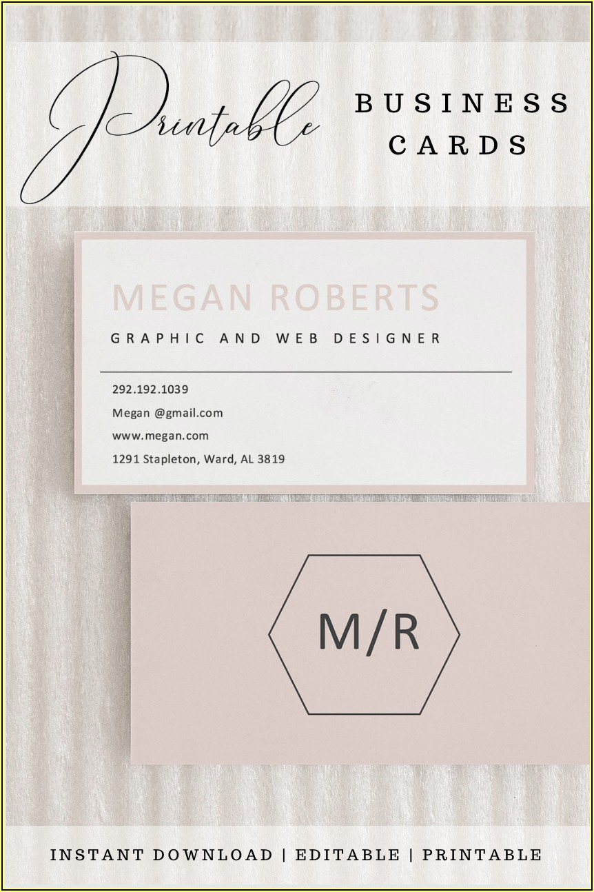 Print Business Cards Instantly