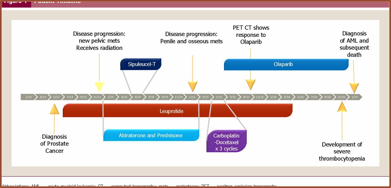 Prostate Cancer Progression Timeline