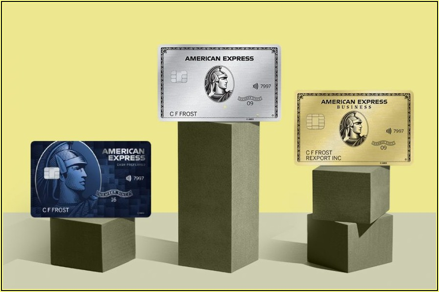Requirements For Amex Corporate Card