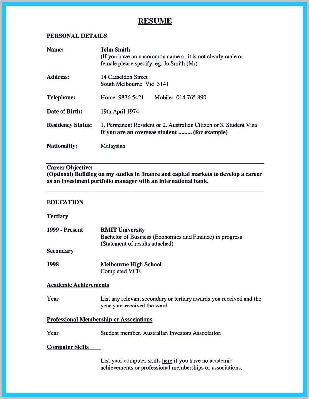Resume Cover Letter Sample For Bank Teller
