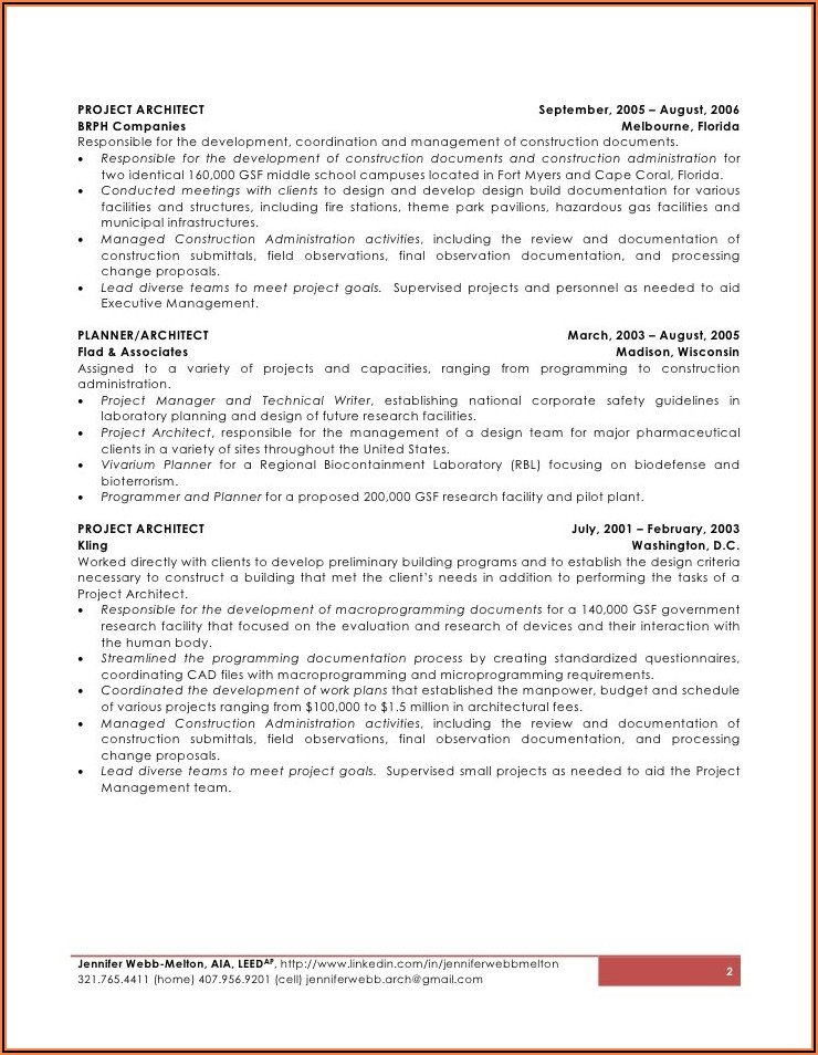 Resume Writing Services Melbourne Fl