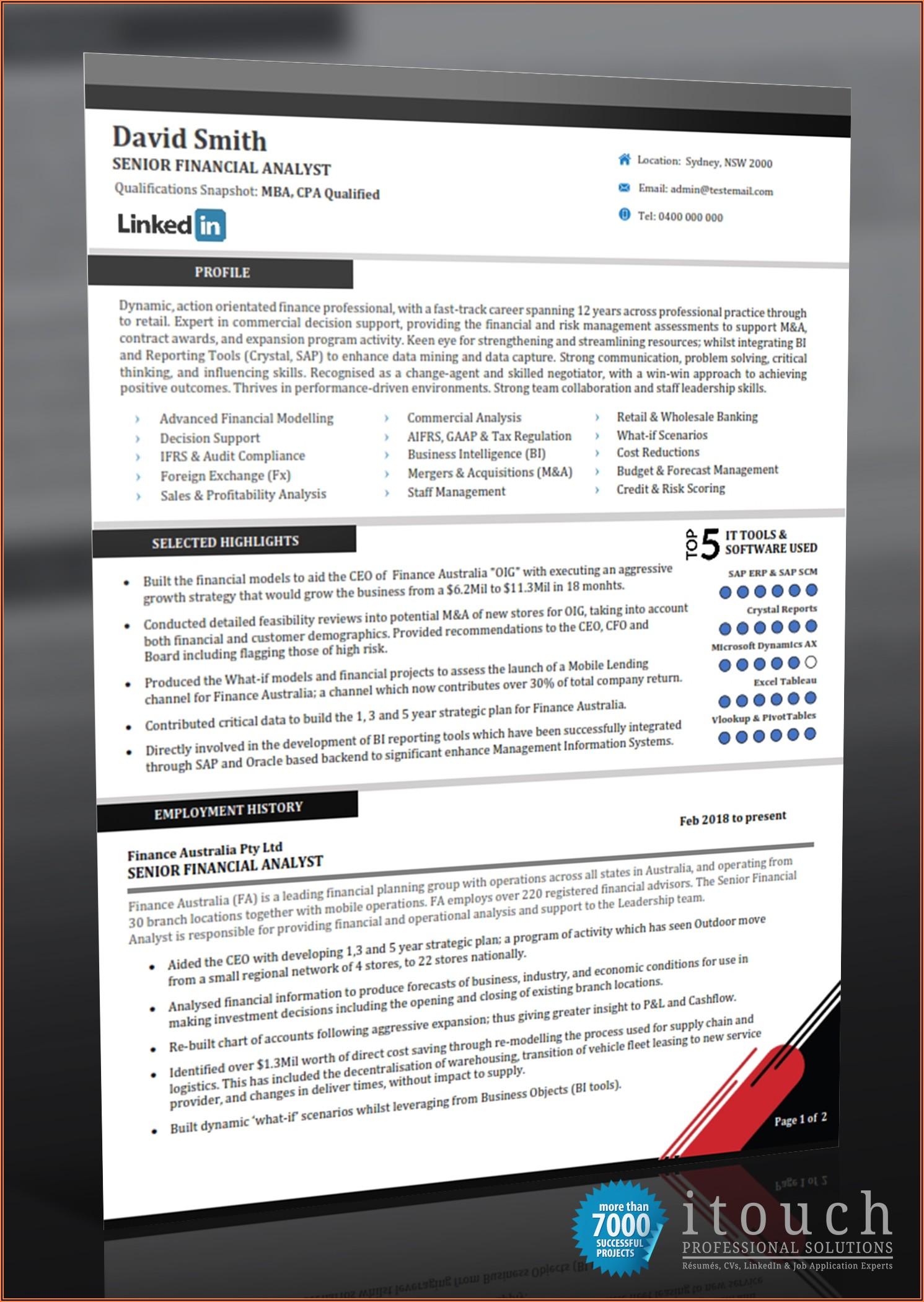 Resume Writing Services Perth Wa