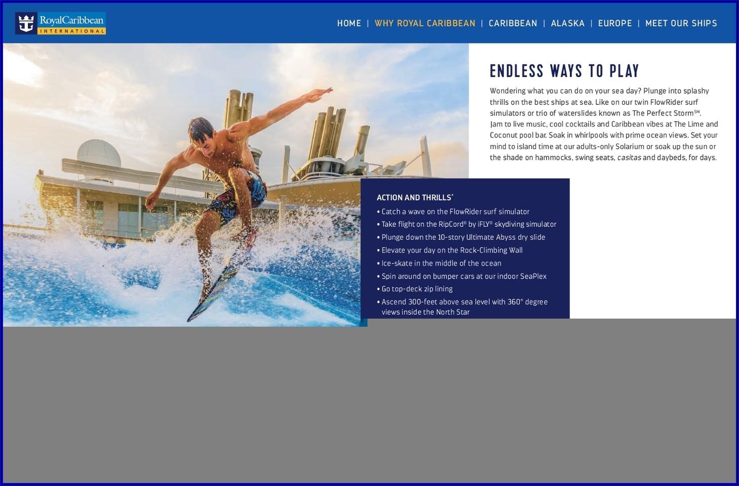 Royal Caribbean Brochure Shore Excursions