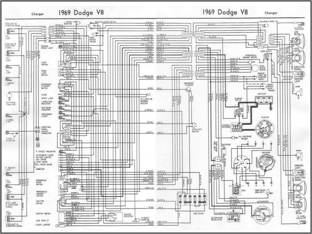 Simple Wiring Diagram For Car