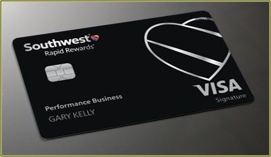 Southwest Performance Business Card Companion Pass