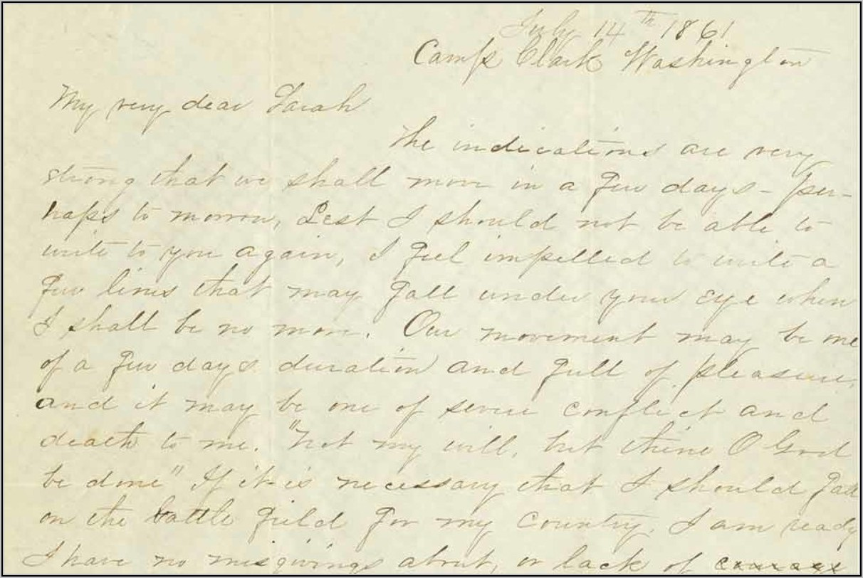 Sullivan Ballou Letter Rhetorical Analysis