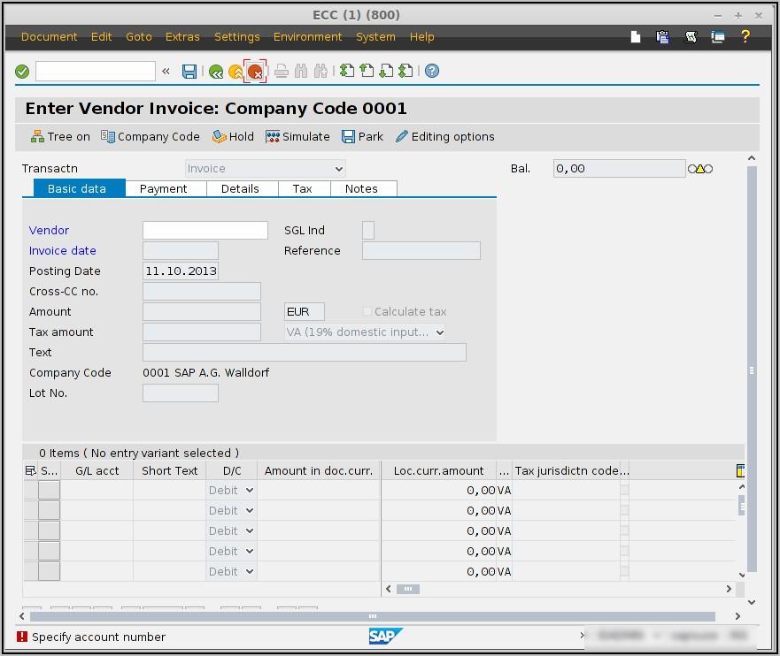 Supplier Invoice Workflow In Sap