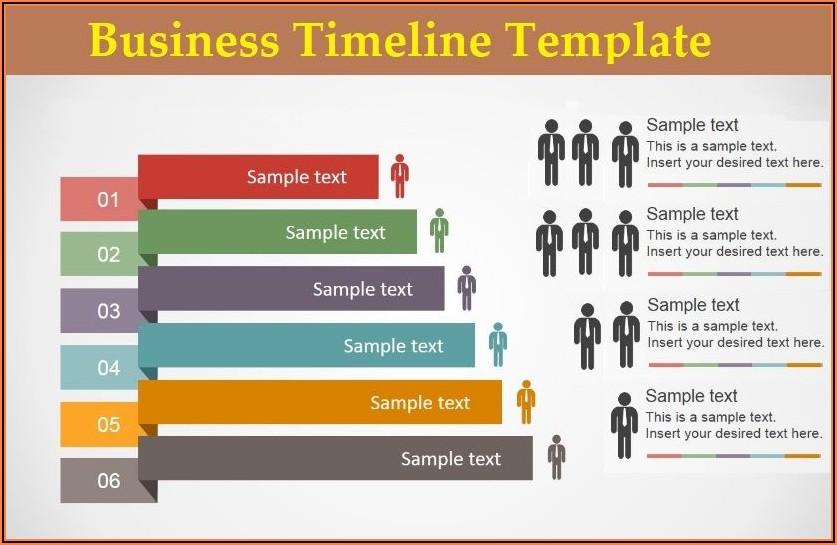 Timeline Printable Template Free