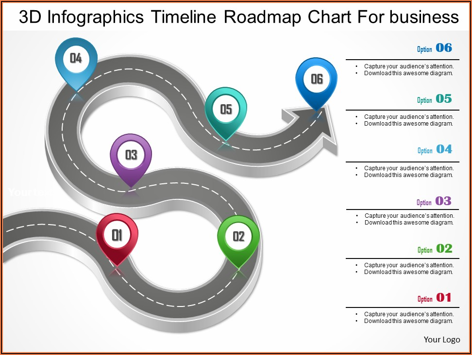 Timeline Template Powerpoint Free Microsoft