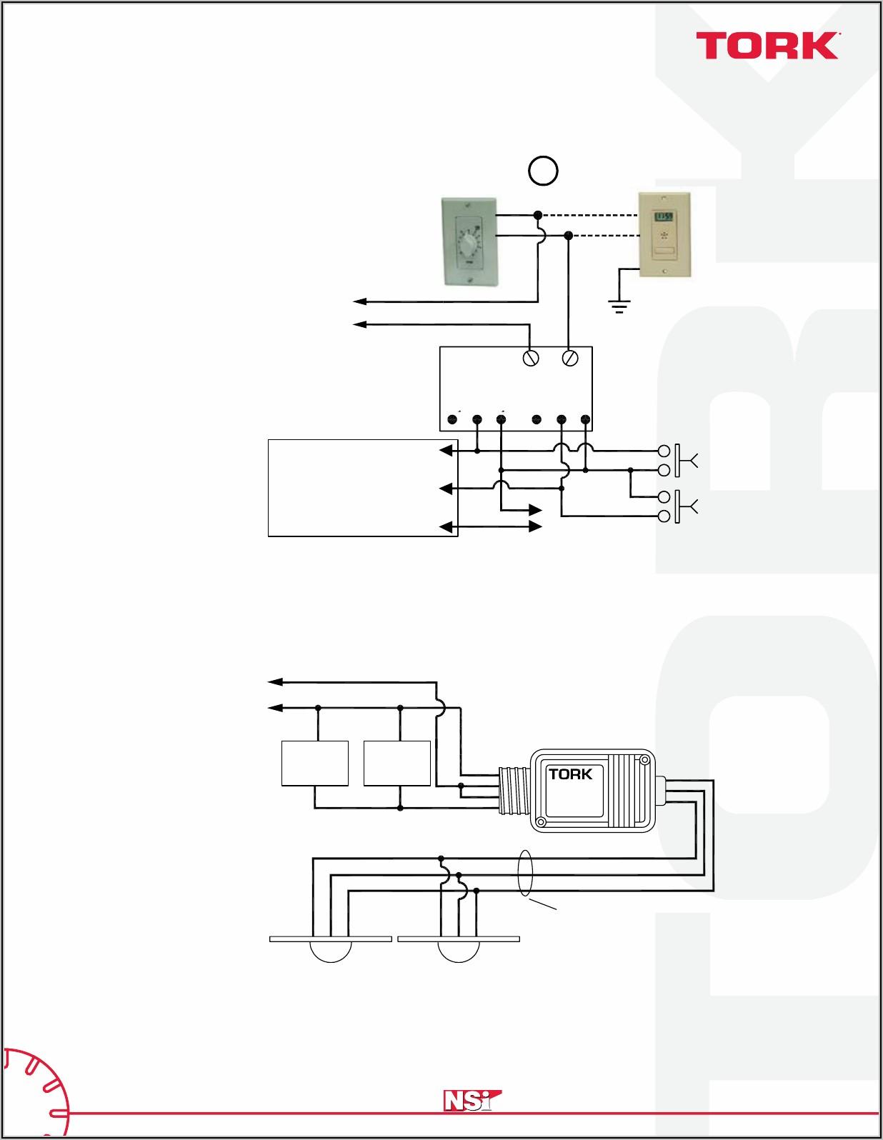 Tork Photocell 2101 Wiring Diagram