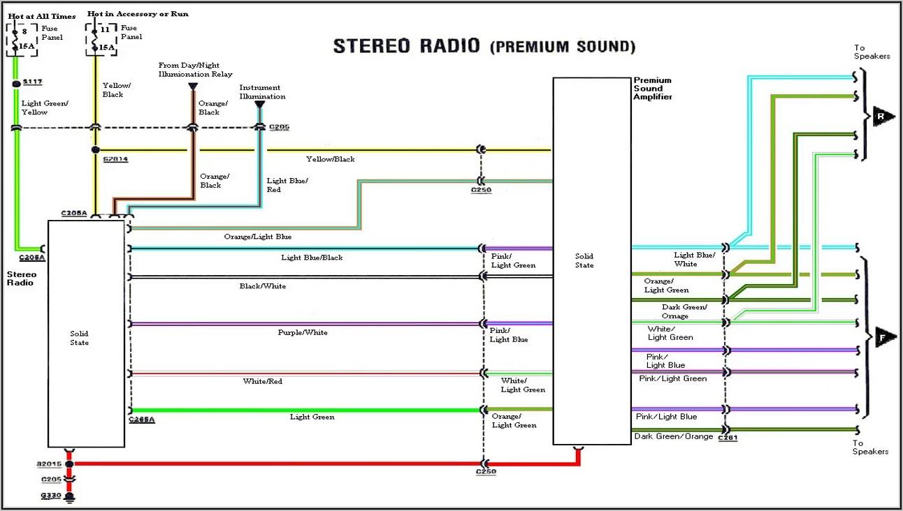 Toyota Corolla Car Stereo Wiring Diagram