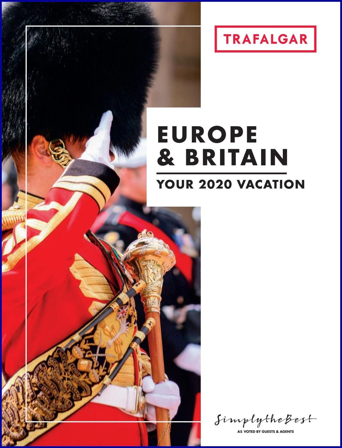 Trafalgar Tours Brochures 2019