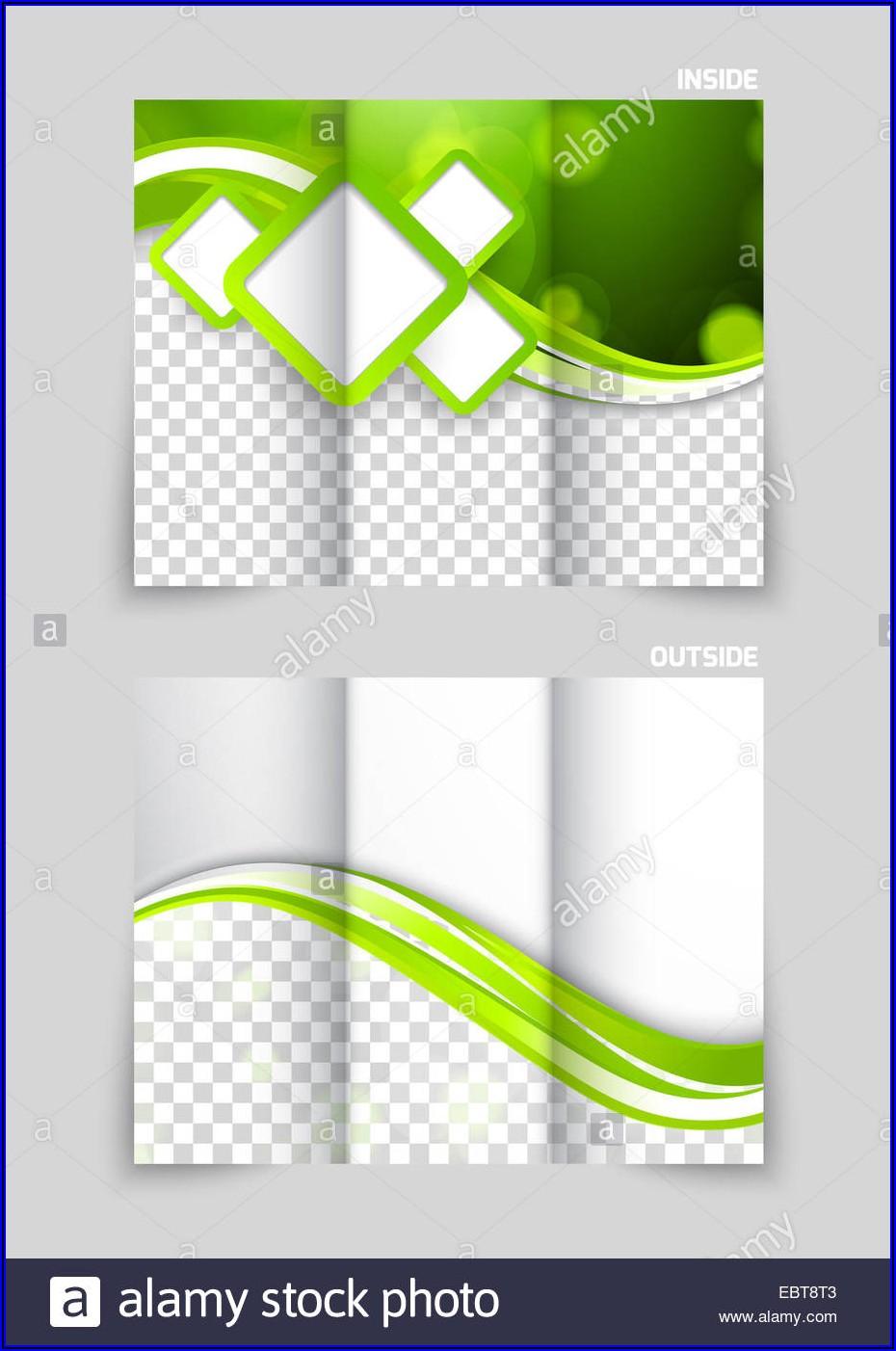 Tri Fold Brochure Background Design Png
