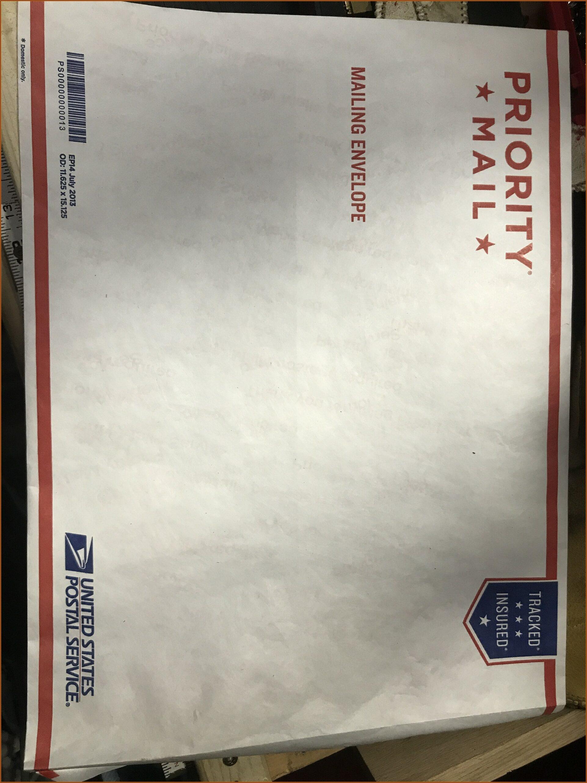 Usps Flat Rate Envelope Rules