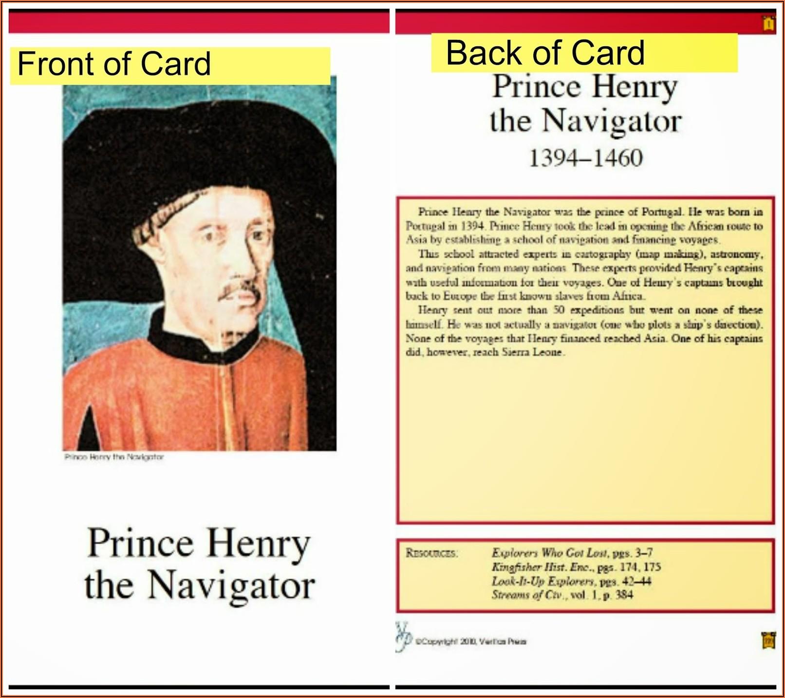 Veritas Press History Cards Review