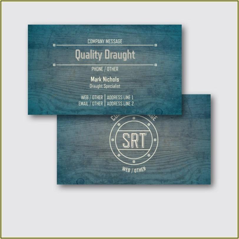 Vistaprint Business Card Designs