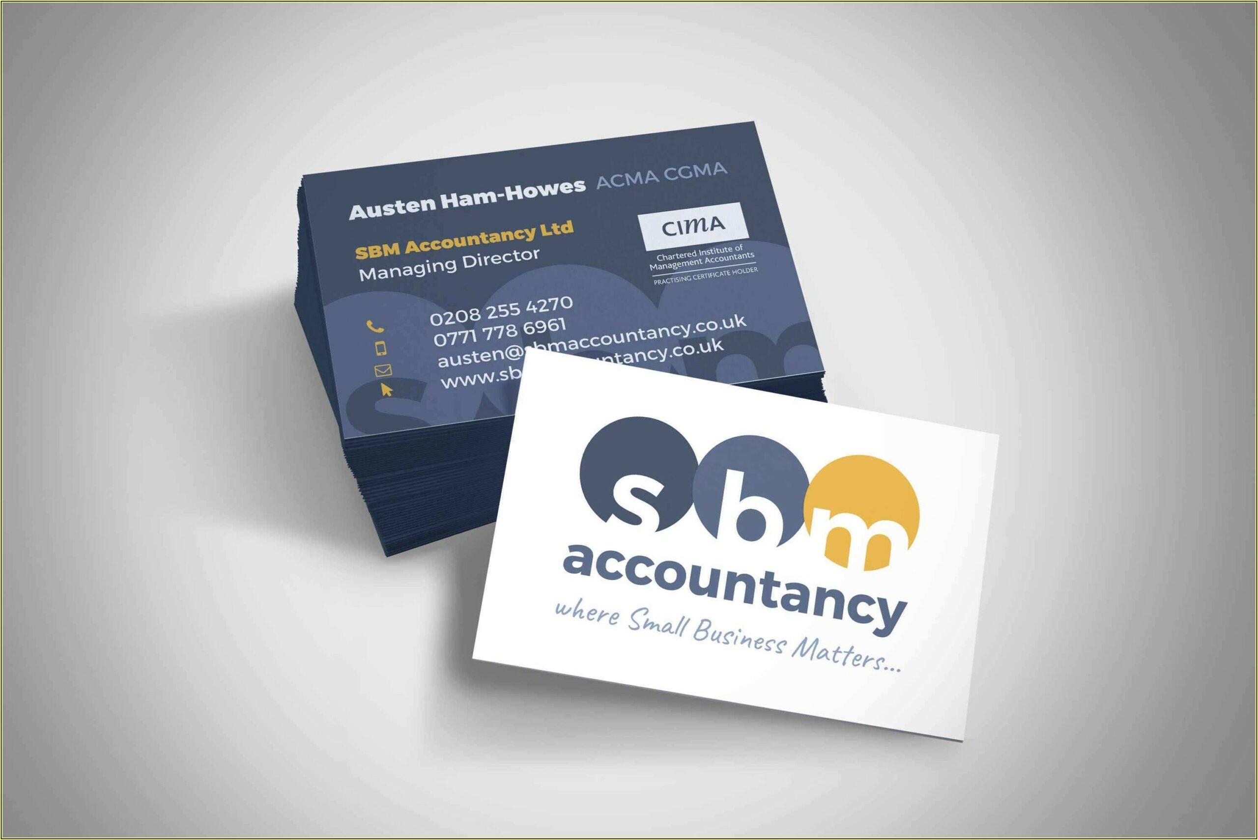 Vistaprint Business Card Templates