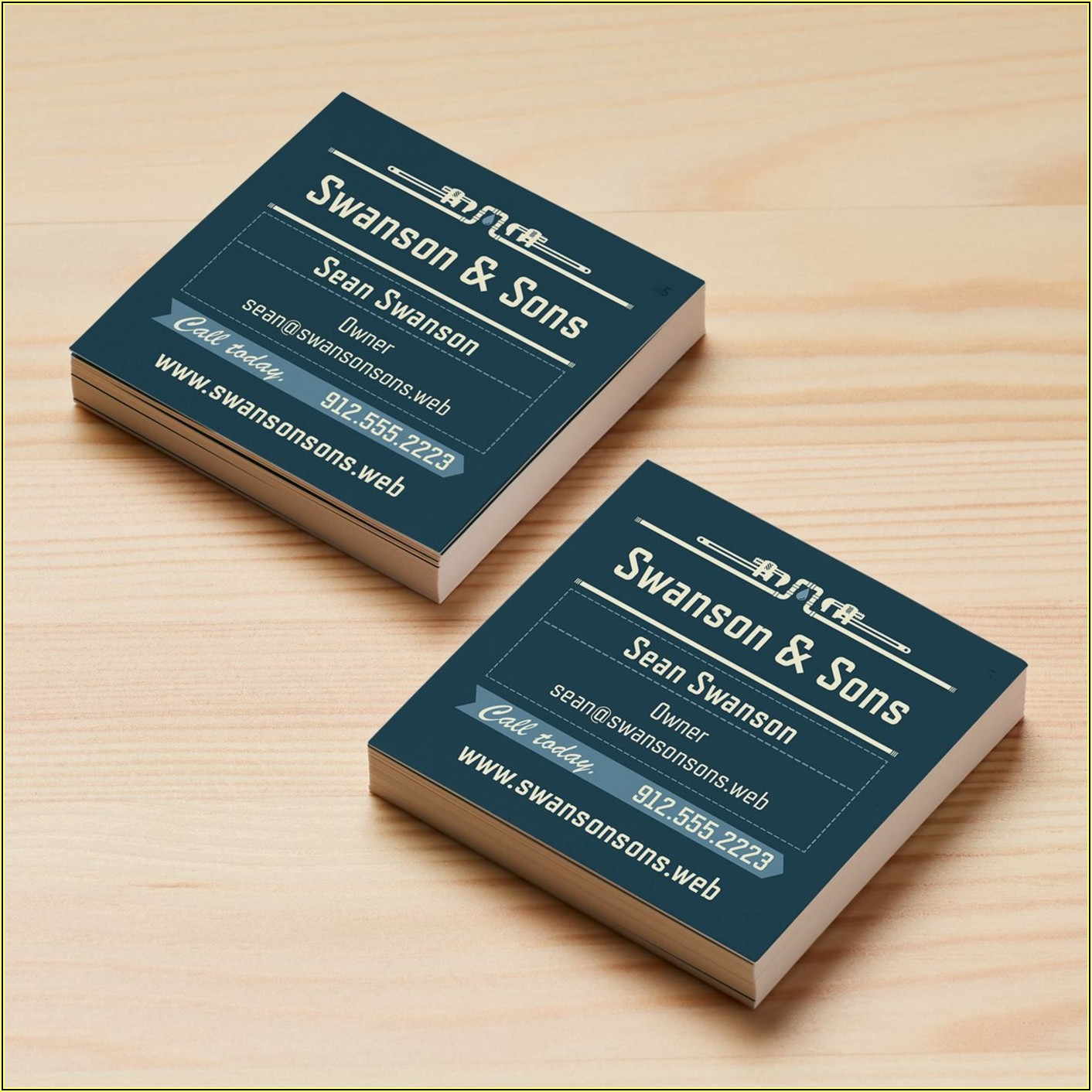 Vistaprint Standard Business Card Size