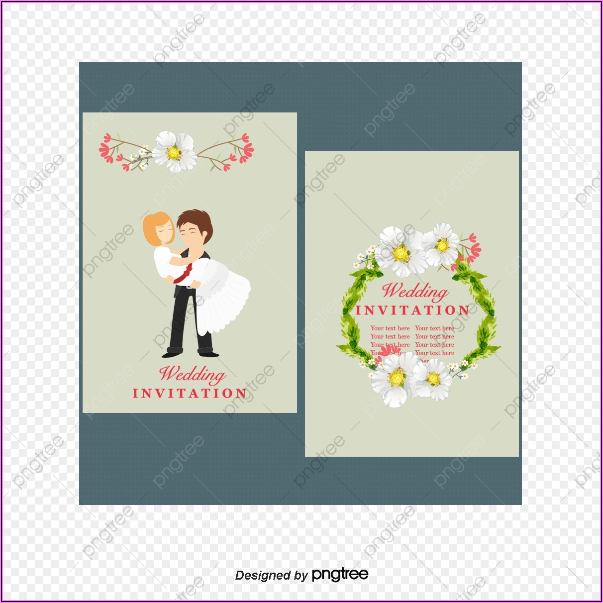 Wedding Invitation Card Template Free Download
