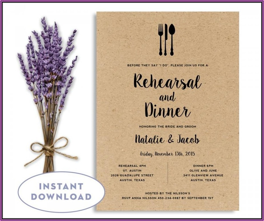 Welcome Baby Boy Dinner Invitation