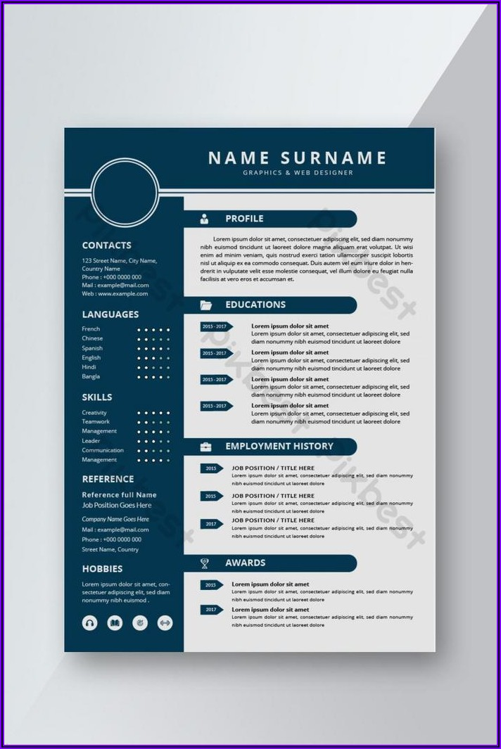Word Doc Resume Template Download